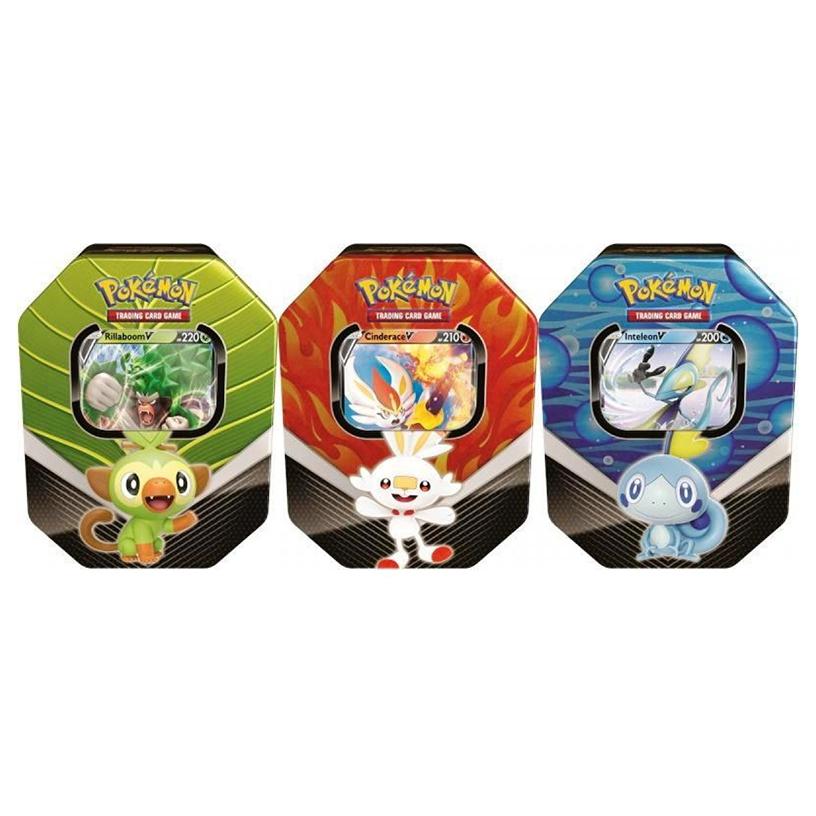 Pokemon Trading Cards Spring 2020 Galar Partners Tin Pokemon Kort